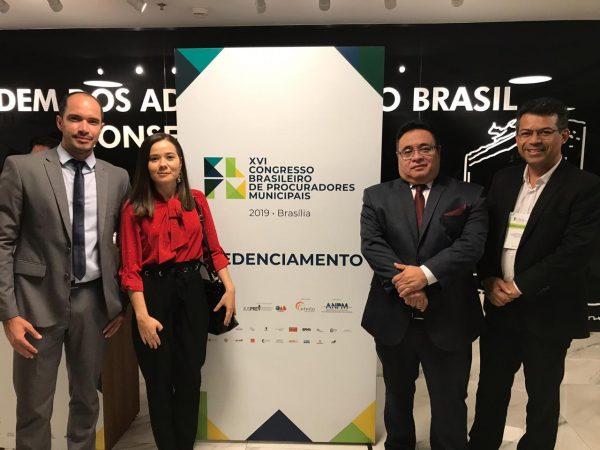 Prefeito de Lagoa Nova, Luciano Santos, cumpre agenda em Brasília