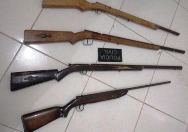 Polícia Civil apreende adolescente com armas de fogo em Parelhas